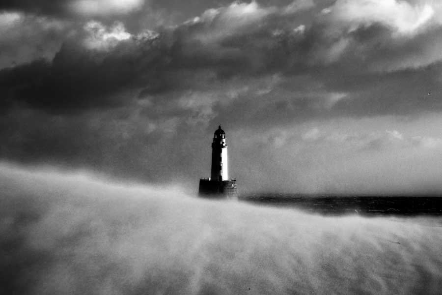 Rattray Head Lighthouse - SandStorm