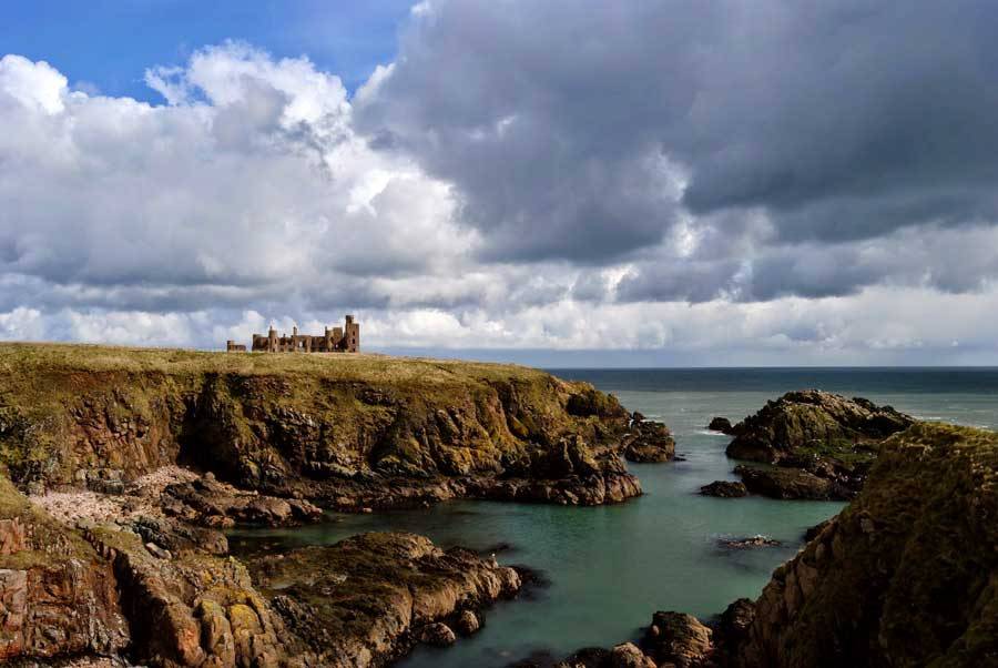 Slains Castle near Cruden Bay
