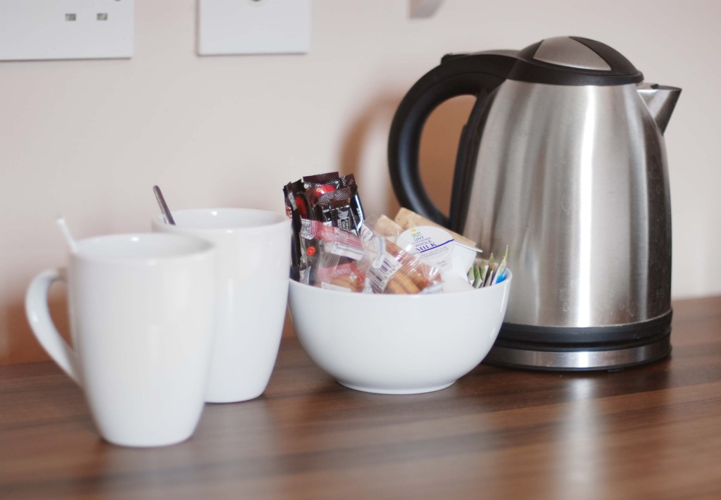 Tea/Coffee making facilities in the Waverley Hotel rooms